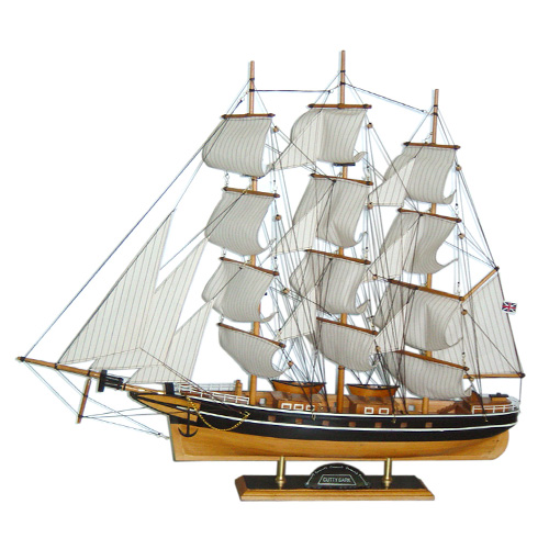 Multitude Mast Wooden Sailing Boat