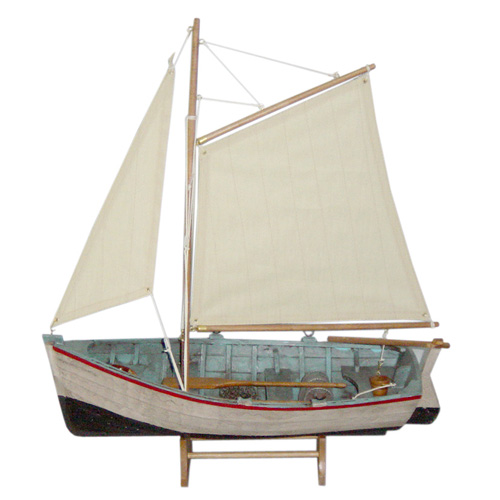 Antique Wooden Sailing Boat