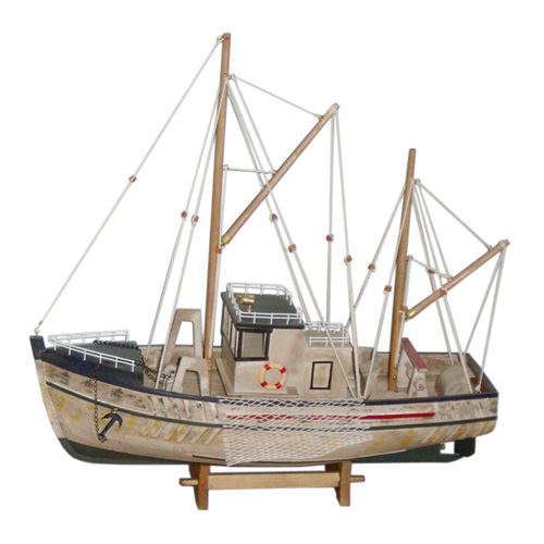 Antique Wooden Fishing Boat