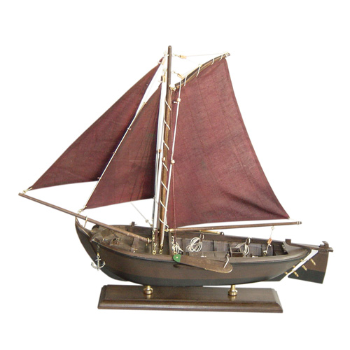 Wooden Fishing Boat
