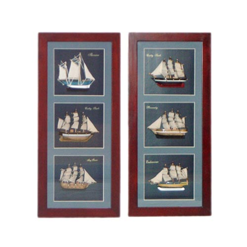 WOODEN NAUTICAL FRAME