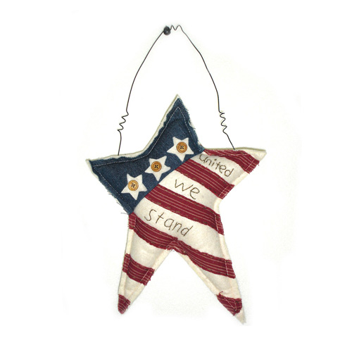 United We Stand Hanging Star