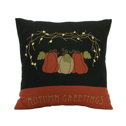 AUTUMN GREETINGS CUSHION