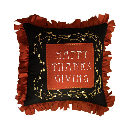 HAPPY THANKS GIVING CUSHION