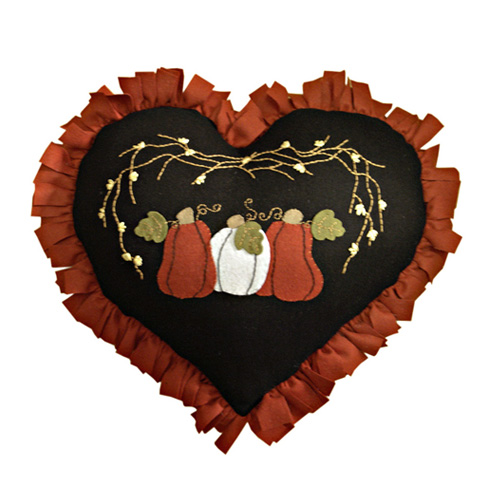 HARVEST HEART CUSHION