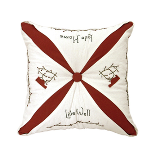 CHRISTMAS CUSHION WITH FASTENER