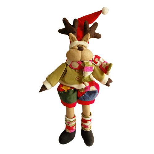 CHRISTMAS MOOSE DOLL