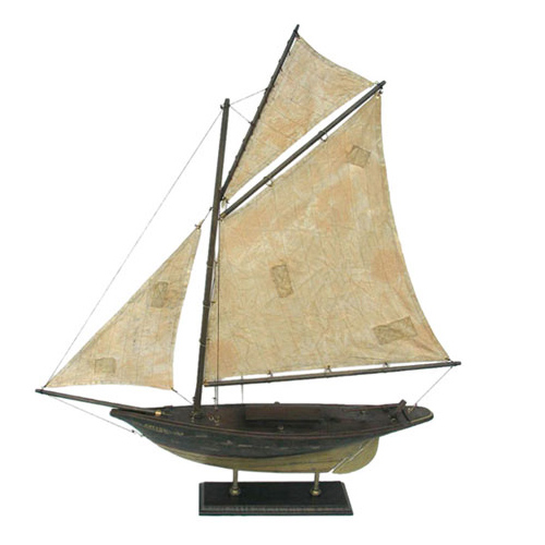 POLYRESIN SAILBOAT
