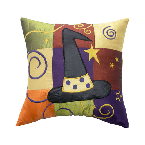 HALLOWEEN PATCHWORK CUSHION