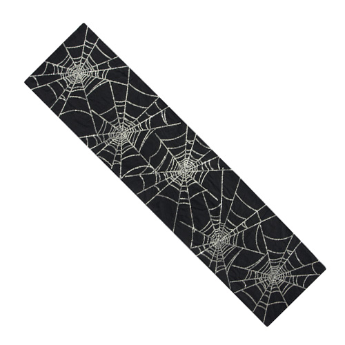 SEQUIN SPIDERWEB TABLE RUNNER