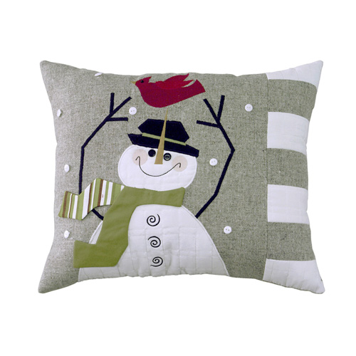 WINTRY FRIENDS CUSHION