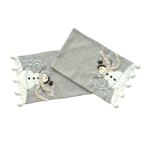 BLESSINGS FALL FROM HEAVEN TABLE RUNNER