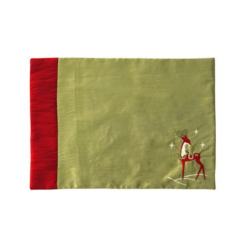 RED REINDEER PLACEMAT
