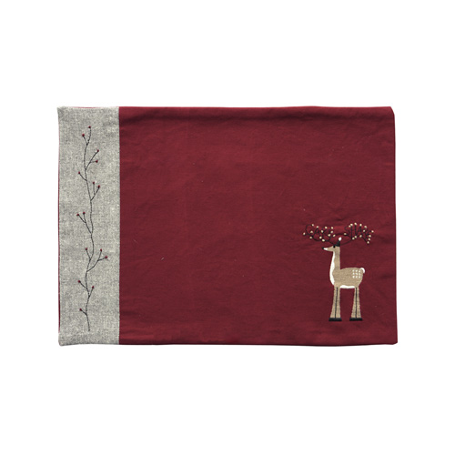 BERRY & REINDEER PLACEMAT