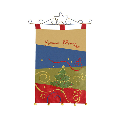CHRISTMAS PATCHWORK BANNER