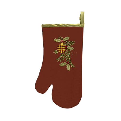 Christmas Ornaments Oven Glove