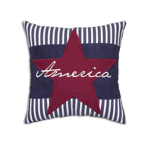 STAR AND STRIPE CUSHION