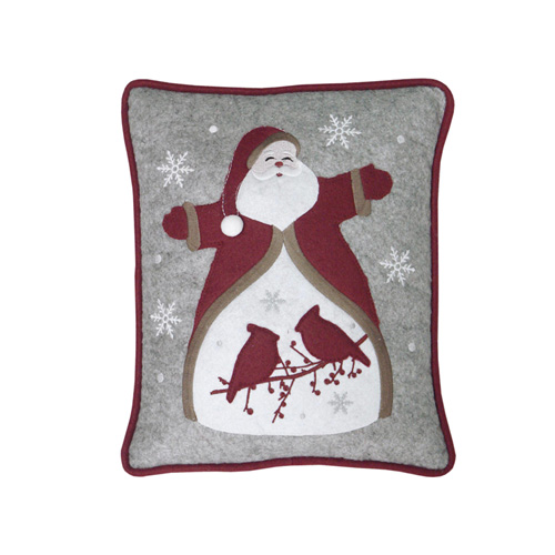 SANTA & BIRDS CUSHION