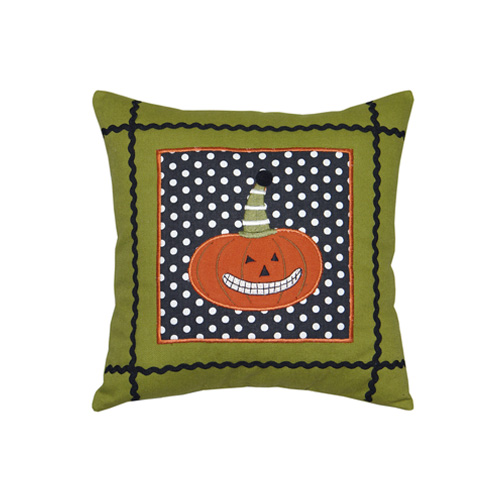PUMPKIN SQUARE CUSHION