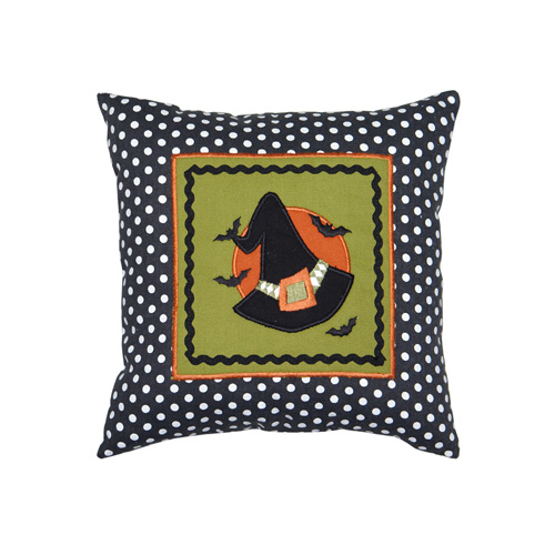 WITCH HAT SQUARE CUSHION