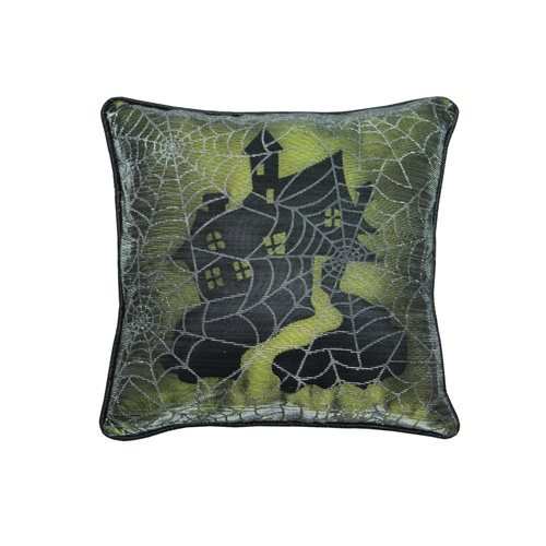 HOUSE HALLOWEEN CUSHION
