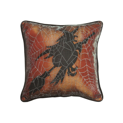 WITCH HALLOWEEN CUSHION