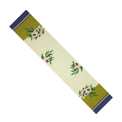OLIVE TREE TABLE RUNNER