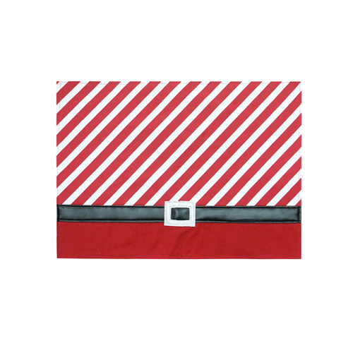 Christmas Candy Stripe Placemat