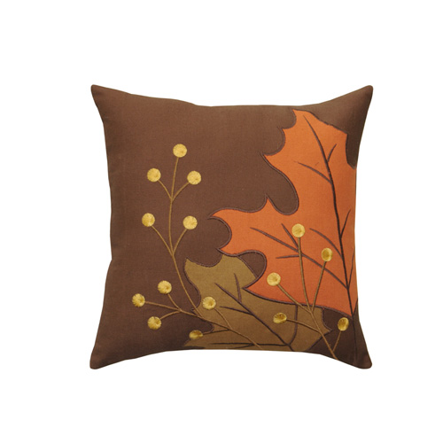 LEAVES & BERRY CUSHION