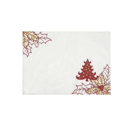 Christmas Tree & Christmas Leaf Placemat
