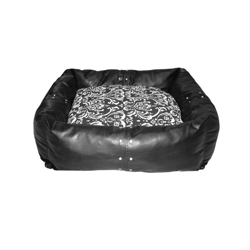 Rectangular Pet Bed FauxL.