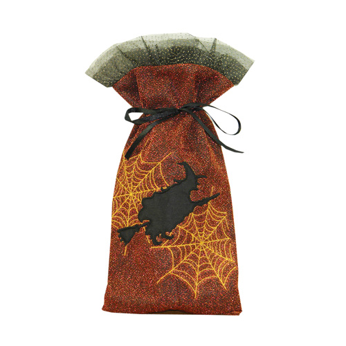 Glittery Witch Wine Bag