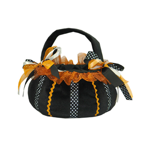 Ribbon Treat Bag/Black