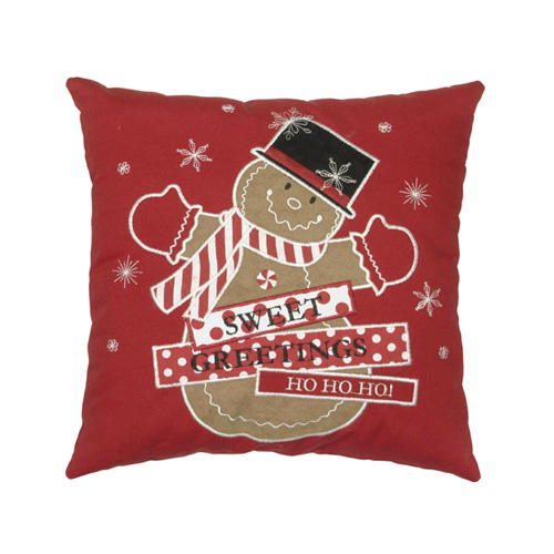 Gringerbread Man Pillow